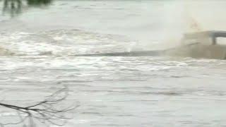 Bridge over Llano River collapses during massive flooding
