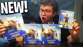 NEW Fortnite PS4 CONTROLLER SKIN BUNDLE UNBOXING! ROYALE BOMBER SKIN PACK! (Fortnite Battle Royale)