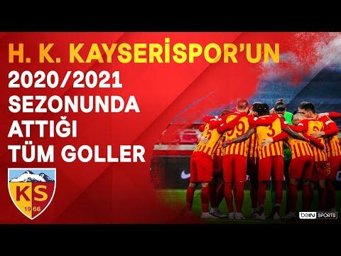H. K. Kayserispor   2020/21 Sezonu   Tüm Goller   #SüperLig