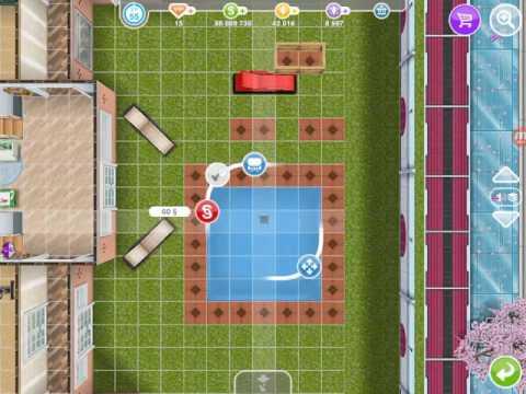 Баг на поворот предмета на 45 градусов в The Sims FreePlay