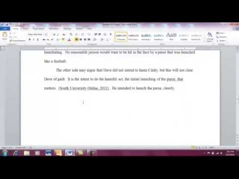 how to write a paper vancouver style