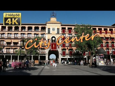 Toledo, City Center - Spain 4K Travel Channel
