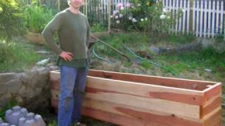 This video previously contained a copyrighted audio track. Due to a claim by a copyright holder, the audio track has been muted.     Floating Backyard Deck with Planter Box - DIY