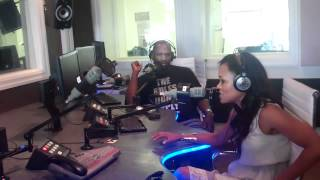 Robin Givens w Mark&Jem In The Morning