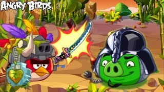 Angry Birds Epic - VOLCANO ISLAND (Daily Dungeon) - Golden Pig Hunt