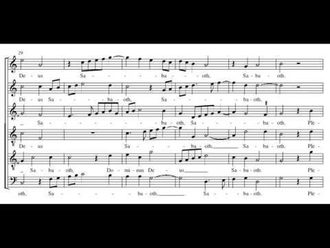 Palestrina: Missa Assumpta est Maria - Sanctus
