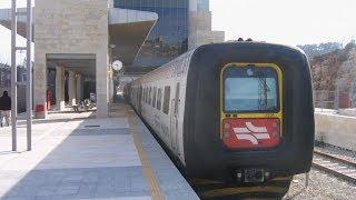 Израиль. Иерусалим, поездка в Тель-Авив на дизель-поезде IC3 (весна 2014)
