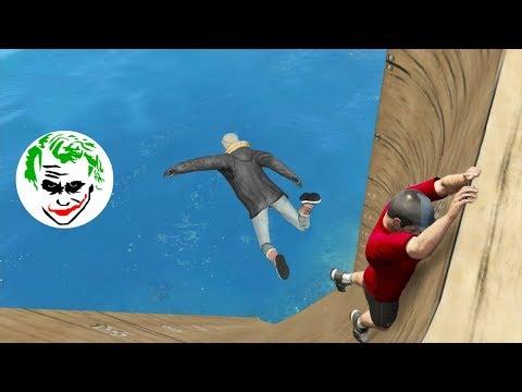 GTA 5 Epic and Funny Moments #82 ( Fail, Glitch, win, bug ) - Momentos Graciosos