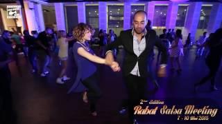 Talal & Isabel Freiberger - salsa dancing @ RABAT SALSA MEETING 2015