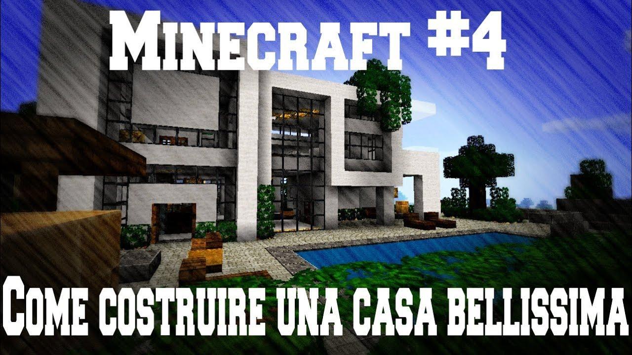 Minecraft 4 come costruire una casa bellissima spaggia - Costruire una casa da zero ...
