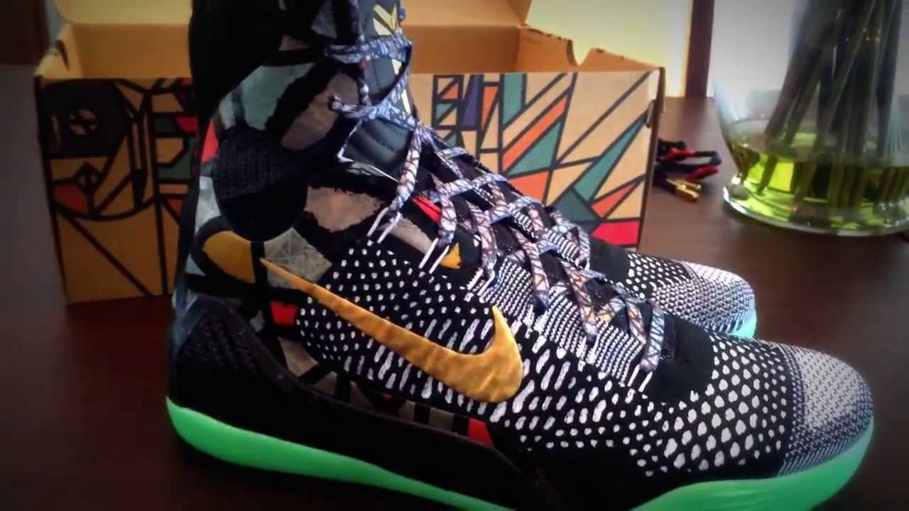 reputable site ad459 706a7 Kobe 9 Elite Devotion Maestro NOLA GUMBO Unboxing yeezy all star - YouTube
