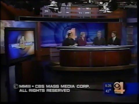 WBZ-TV 6pm News, November 4, 2003