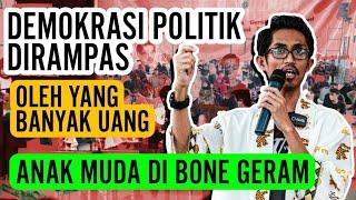 Download GERAM📍Pemuda di Bone Kecam Pemain Politik yang Main Uang, Mereka Ingin Begini  Seminar IAIN Bone