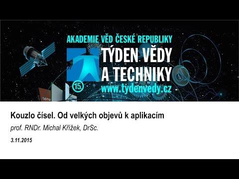 Kouzlo čísel. Od velkých objevů k aplikacím - prof. RNDr. Michal Křížek, DrSc.