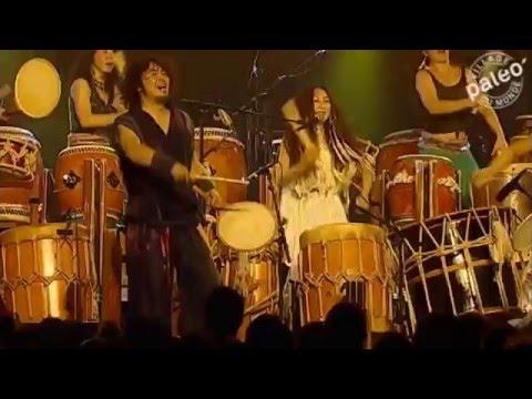 GOCOO Performing CELEBRATION Live At Paleo Festival Nyon Switzerland