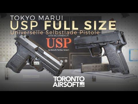 Tokyo Marui USP Full Size Review - TorontoAirsoft.com