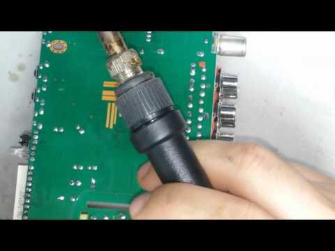 быстрый ремонт приставки сигнал hd-200 не включается (мигает светодиод)