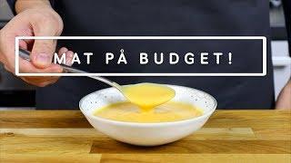 Mat på Budget: Morotssoppa med kokos och Ingefära
