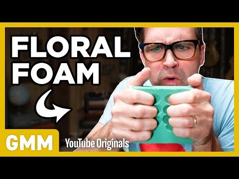 We Try Floral Foam Crushing ASMR