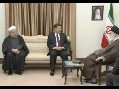 Chinese President Meets Iran's Supreme Leader Khamenei