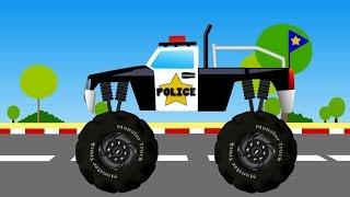 Monster Truck | Monster Truck Videos For Kids | Monster Trucks For Children