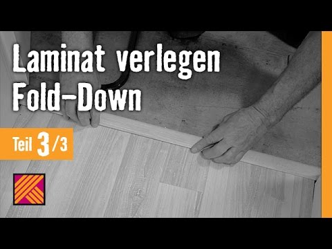 version 2013 laminat verlegen fold down anleitung kapitel 3 abschlussarbeiten youtube. Black Bedroom Furniture Sets. Home Design Ideas