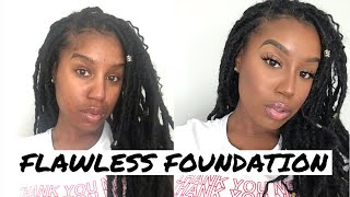 TIPS & TRICKS FOR FLAWLESS FULL COVERAGE FOUNDATION MY Current Foundation Routine