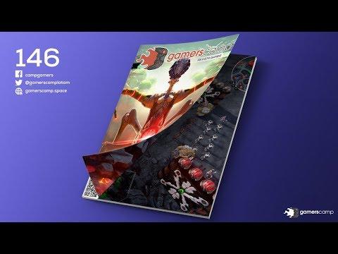 Gamerscamp - Año 4 No. 146 - noticias y lanzamientos con el abuelo Kraken