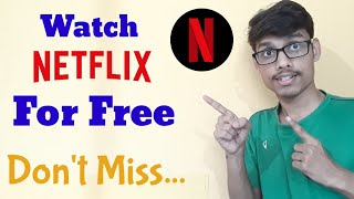 How to register on Netflix and Get your Free  Subscription thumbnail