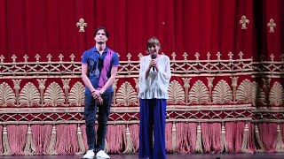 Napoli, la soprintendende del San Carlo sul palco: