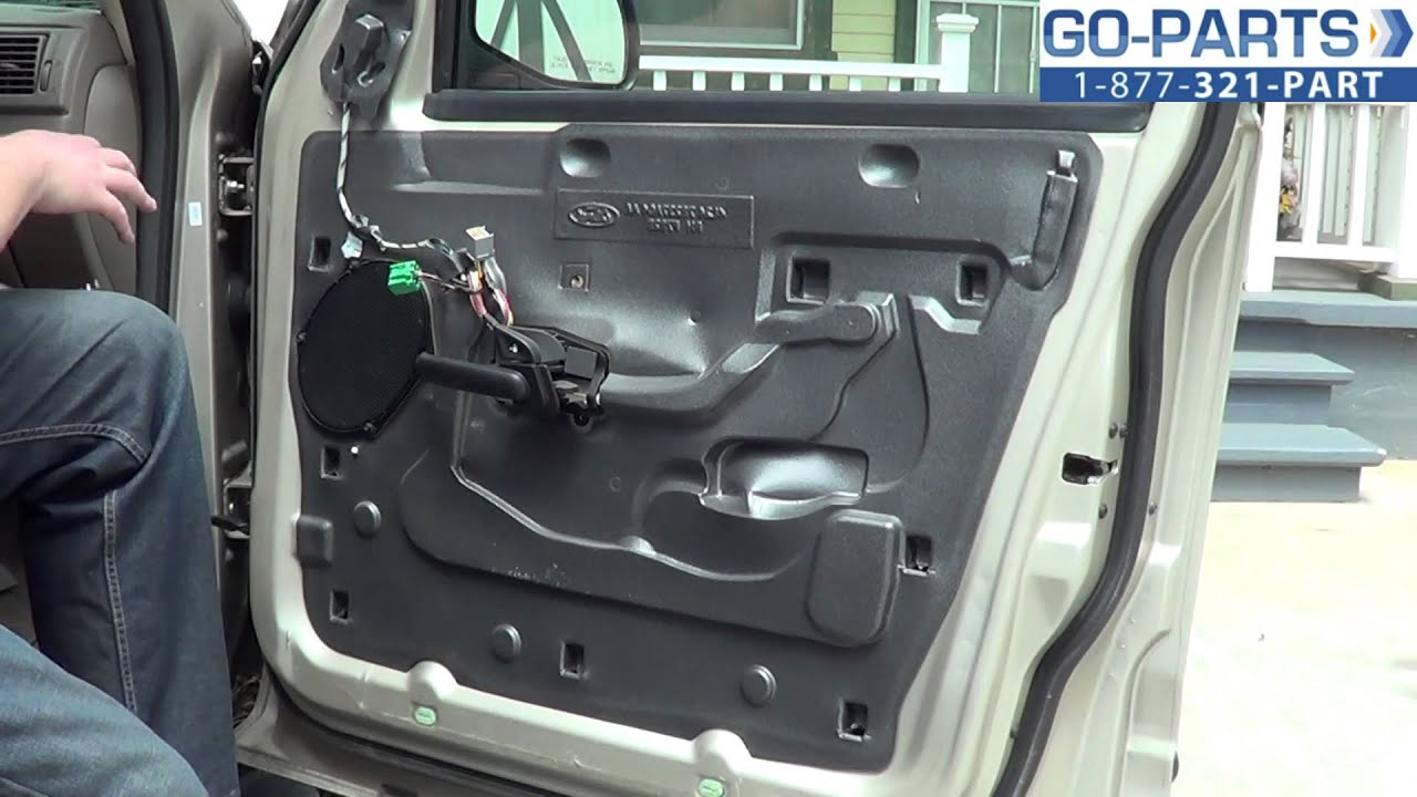 replace 2001 2005 ford explorer front door handle interior how to change install 2002 2003 2004 - 2005 Ford Explorer Interior