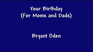 Birthday Song for Moms and Dads