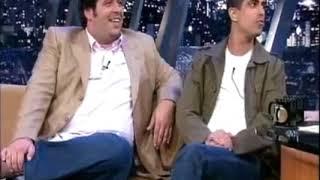 Pra mijar de rir com os caras de pau Leandro Hassum e Marcius Melhem juntos no Jô