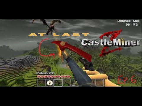 CastleMiner Z Ep.6 We Got The BloodStone Pickaxe At Last!