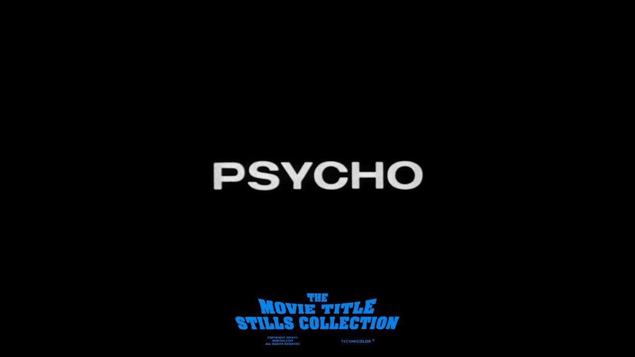 Saul Bass – Psycho (1960)