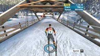 Torino 2006 Cross-Country Skiing PC Gameplay