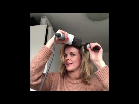 How I blow dry my hair using Dyson Supersonic and a round brush
