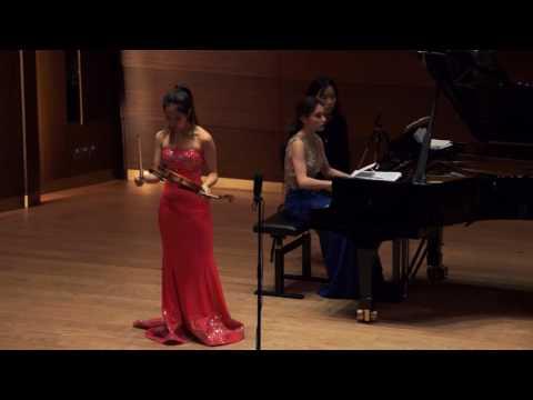 "Verena Chen (陈瑞玲) - Maurice Ravel ""Tzigane – Concert Rhapsody"""