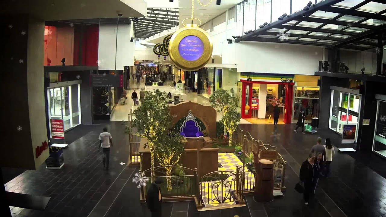 Christmas at Watergardens Town Centre - YouTube