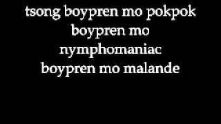 Giniling Festival - Tsong Boypren mo Pokpok lyrics.wmv