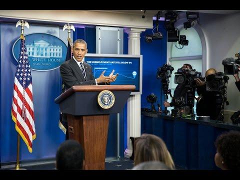 President Obama Speaks on the Economy