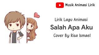 """Gambar cover Lirik """"Salah Apa Aku"""" (Entah Apa Yg Merasukimu) -Dimas Gepenk"""