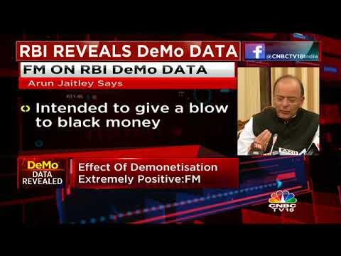 FM Jaitley On Demonetisation Data In RBI's Annual Report
