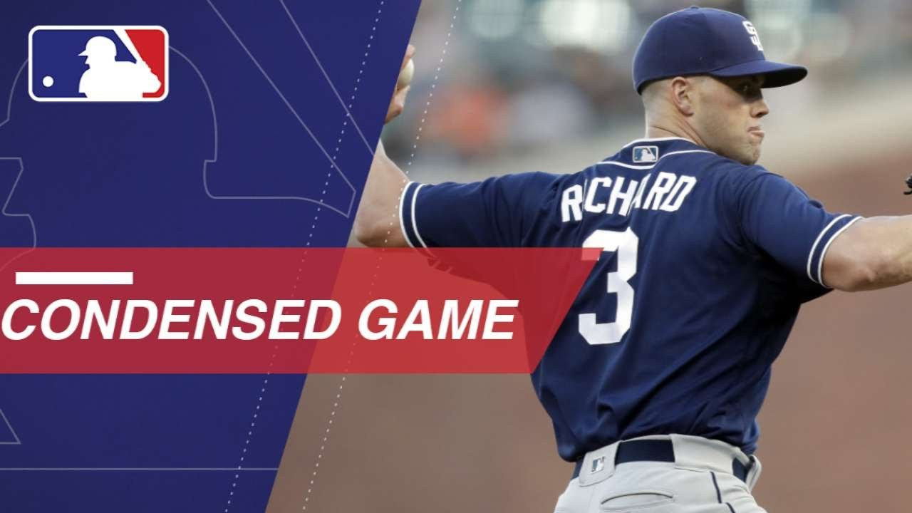 Condensed Game: SD@SF - 6/22/18