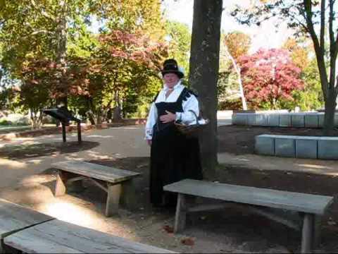 Virginia travel: Costumed interpreter in historic Jamestown