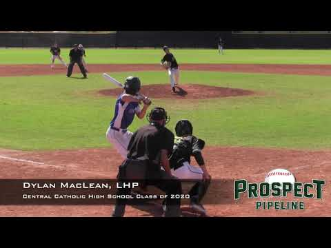 Dylan MacLean Prospect Video, LHP, Central Catholic High School Class of 2020