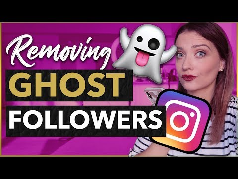 My EXACT PROCESS for Removing THOUSANDS of GHOST FOLLOWERS on Instagram 2019