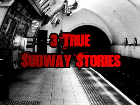 3 Scary True Subway Stories