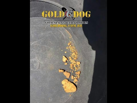 Onde achar ouro em garimpos com riachos ... NAO PERCA