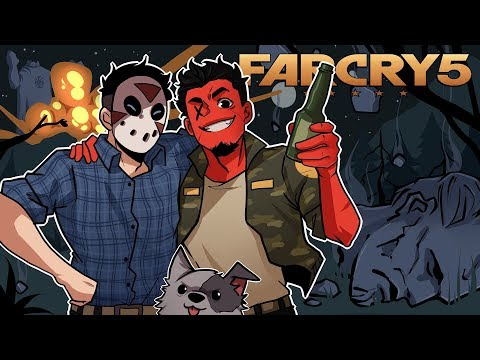 DESTROYING JOSEPH'S GIANT STATUE! | Far Cry 5 (Coop w/ H2O Delirious) EP 10